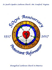Logo for our Reformation 500 Observance